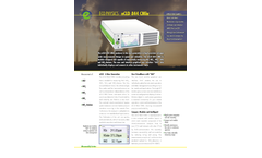 Eco Physics - Model nCLD 844 CMhr - Modular Gas Analyzer - Brochure