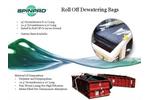 Roll Off Dewatering Bags - Brochure