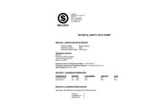 Absorbents-Industrial Mats - Rag Rug Matarial Data Sheet Brochure