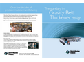 CMC - Gravity Belt Thickeners