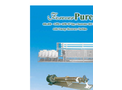 Model 446,400 GPD - Seawater Ro Plant with Energy Recovery Turbine Brochure