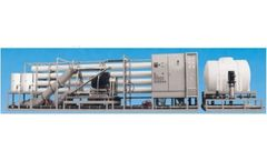 ForeverPure - Model 132,000 GPD - Seawater RO Plant With Energy Recovery Turbine