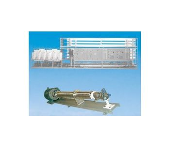 ForeverPure - Model 446,400 GPD - Seawater RO Plant With Energy Recovery Turbine
