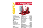 6 inch electric wellpoint dewatering pump