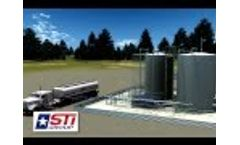 STI Group Oilfield Services Patent Pending Complete Well Site Modular Package Video