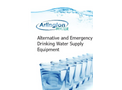 Alternative and Emergency Drinking Water Supply Equipment - Brochure