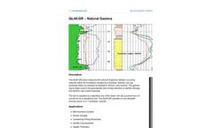 Mount-Sopris - Model QL40-GR - Natural Gamma Probes - Brochure