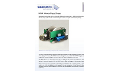 Model WNA Winch Series - Borehole Winches Brochure