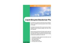 Liquid Enzyme Deodorizer Plus Brochure