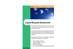 Liquid Enzyme Deodorizer Brochure