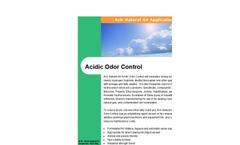 Acidic Odor Control Brochure
