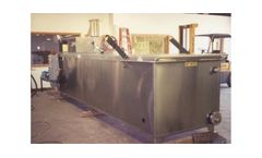 Model E-1200 - Hot Tube Wastewater Evaporator