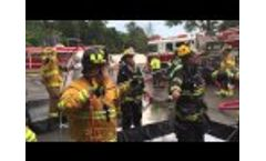 Ramsey Rescue Decon operations in waldwick Video