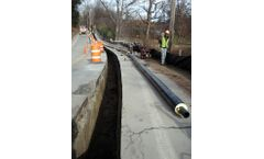Urecon - Water and Sewer Mains Shallow Buried Pre-Insulated Pipe