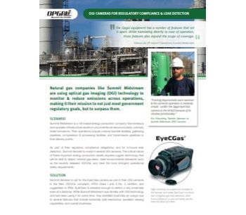 OGI Cameras for Regulatory Compliance & Leak Detection - Case Study