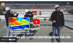 Thermal Sensitivity in OGI (Optical Gas Imaging) Cameras