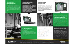 EyeCSite - Model 2.0 - Quantification (QOGI) and Alert software for handled OGI cameras for the oil and gas industry