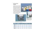 Plastic / Polyethylene Chemical Feed Stations - Brochure