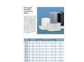 Rectangular Secondary Containment Basins - Brochure
