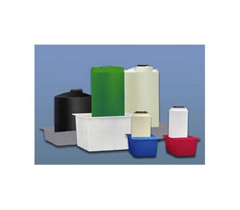 Rectangular Secondary Containment Basins for Chemical Storage