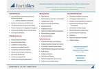 EarthRes Company Brochure