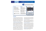 Model FCX80 - Hazardous Location Free Chlorine Analyzer - Brochure
