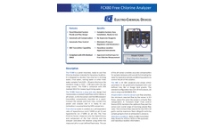Model FCX80 - Hazardous Location Free Chlorine Analyzer - Brochure