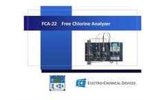 FCA-22 Free Chlorine Analyzer Product Presentation