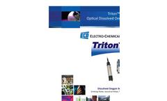 Optical Design - Triton DO8 Optical Dissolved Oxygen Sensor Brochure