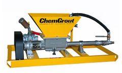 ChemGrout - Model CG-C4 - Progressive Cavity Grout Pumps