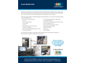 Lab Services - Brochure