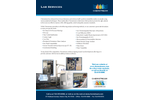 Lab Services - Brochure