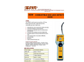 IMR - Model CD200 - Combustible Gas Leak Detector - Brochure