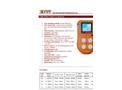 IMR IX616 Multi Gas Detector - Brochure
