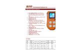IMR - Model IX616 - Multi Gas Detector - Brochure
