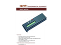 IMR - Model Soot Meter - Digital Soot Scale - Brochure