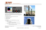 IMRx IMR 5000 19 C.E.M.S. Rack Analyzer - Brochure