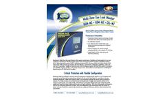 IMR HGM-MZ / AGM-MZ / CO2-MZ Multi-Zone Gas Leak Monitor - Brochure