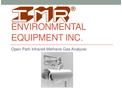 Open Path Infrared Methane Gas Analyzer - Brochure