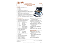 IMR - Model 2800P Series - Combustion Gas Analyzer - Brochure