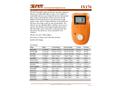 IMR IX176 Single Gas Detector - Brochure
