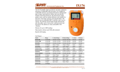 IMR IX176 Single Gas Detector - Brochure