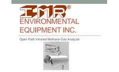 IMR - Model 8000 - Open Path Infrared Methane Gas Analyzer - Presentation
