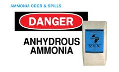 AMMOSORB - Natural Ammonia Spill and Odor Absorbent Deodorizer Granules: 2 lb.