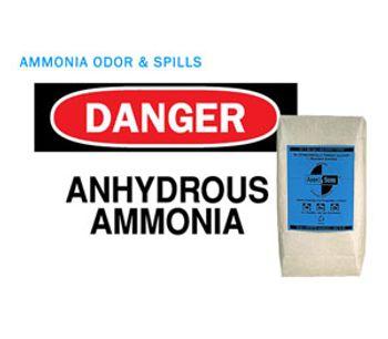 AMMOSORB - Natural Ammonia Spill and Odor Absorbent Deodorizer Granules: 2 lb.