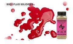 v - Eco Medical Waste Clean Up Solidifier & Super Absorbent: 50 lb. Granules