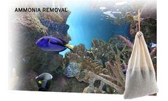 AMMOSORB - Natural Aquarium Toxic Ammonia Absorber Pouch: Medium