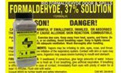 SMELLEZE Natural Formaldehyde Spill Remover & Odor Eliminator Granules: 2 lb.