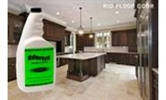 ODOREZE Natural Floor Odor Eliminator Natural Spray: Makes 64 Gallons to Clean Stink Fast