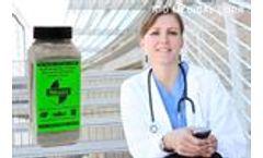 SMELLEZE Natural Hospital Odor Remover Deodorizer: 2 lb. Granules Eliminates Stench